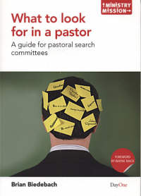 Book designed to help pastoral search committees ask and answer six