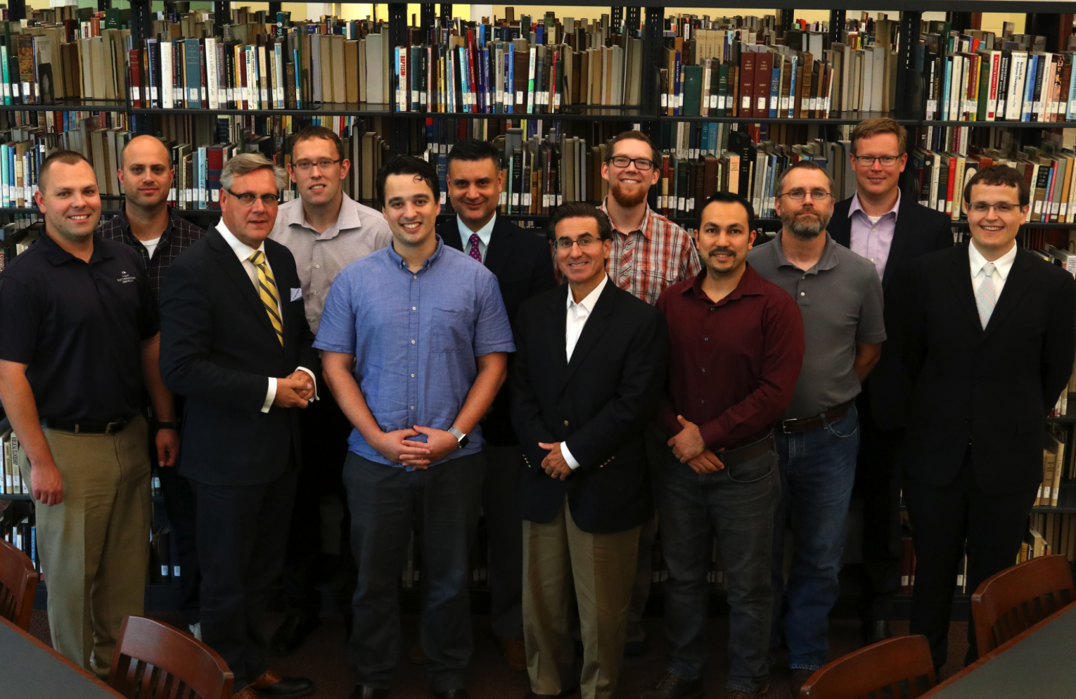The first PhD class at Puritan Reformed Seminary.