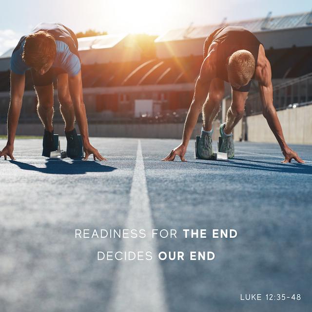 22. Luke 12v35-48