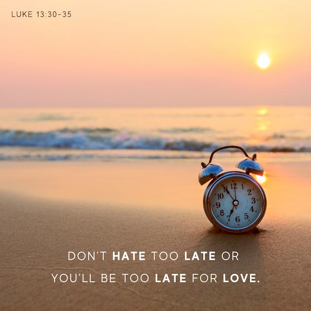 Luke 13v30-35