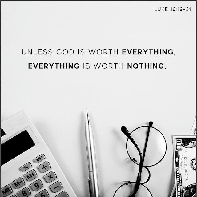Luke 16v19-31